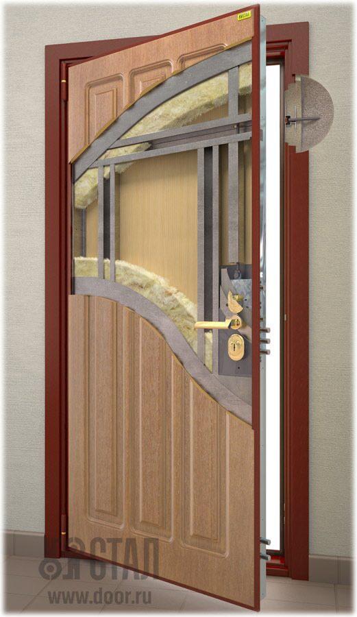 двери металлические тамбур элит сталь