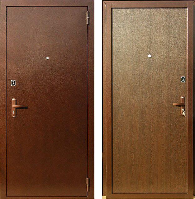 дверь металлическая п эконом