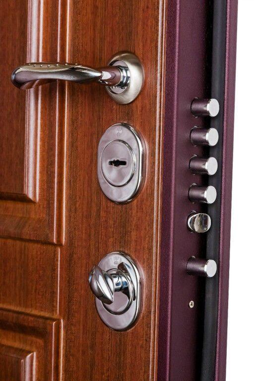 металлическая дверь с дополнительным листом